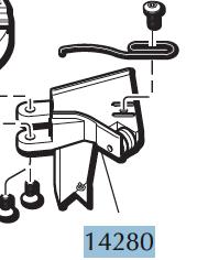 550 Roller Bracket Assembly Code 14280