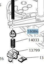 Dillon shoulder washer code 18086