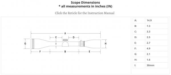 Sightron 45x45 SIII 30mm Riflescope with Fine Cross Hair Code 25184