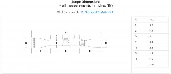 Sightron SI-Hunter 3-9X32 Riflescope Code SI-31039