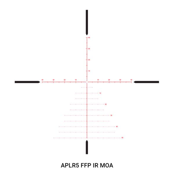 Ares ETR 4.5-30x56 34mm APLR5 FFP IR MOA code 212102