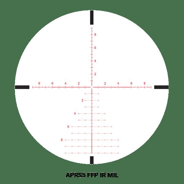 Athlon Ares BTR GEN 2 4.5-27x50 APLR5 FFP IR MIL Code 212010