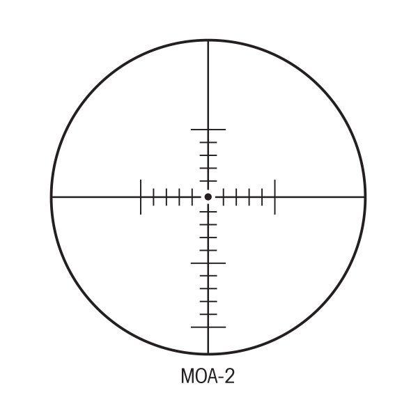 Sightron SIII SS 6-24X50 LR ZS FFP/MOA Riflescope Code 25170