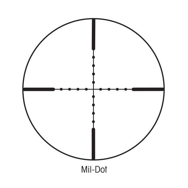 Sightron 10-50x60 SIII LR 30mm Riflescope Mil-Dot Code 25144