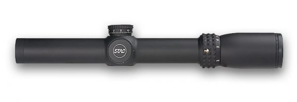 Sightron S-TAC Series Riflescope 1-7X24 Mil-Hash (IR) Reticle Code 26000